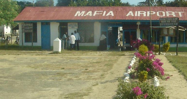 mafia airport facts about Tanzania