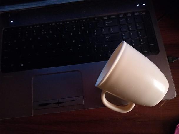 Water Damaged Laptop